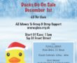 Duck Race – Boxing Day