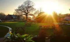 Sunset in Portesham