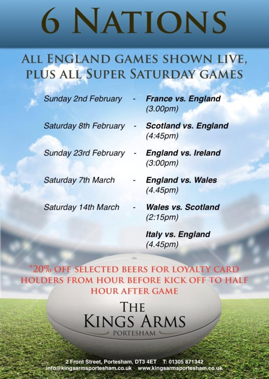 Six Nations – Live Coverage