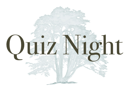 Quiz Night – 25th August