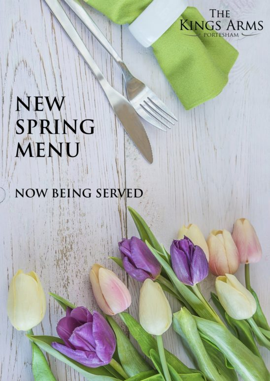 New Spring Menu